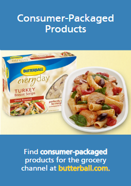 Consumer packaged products