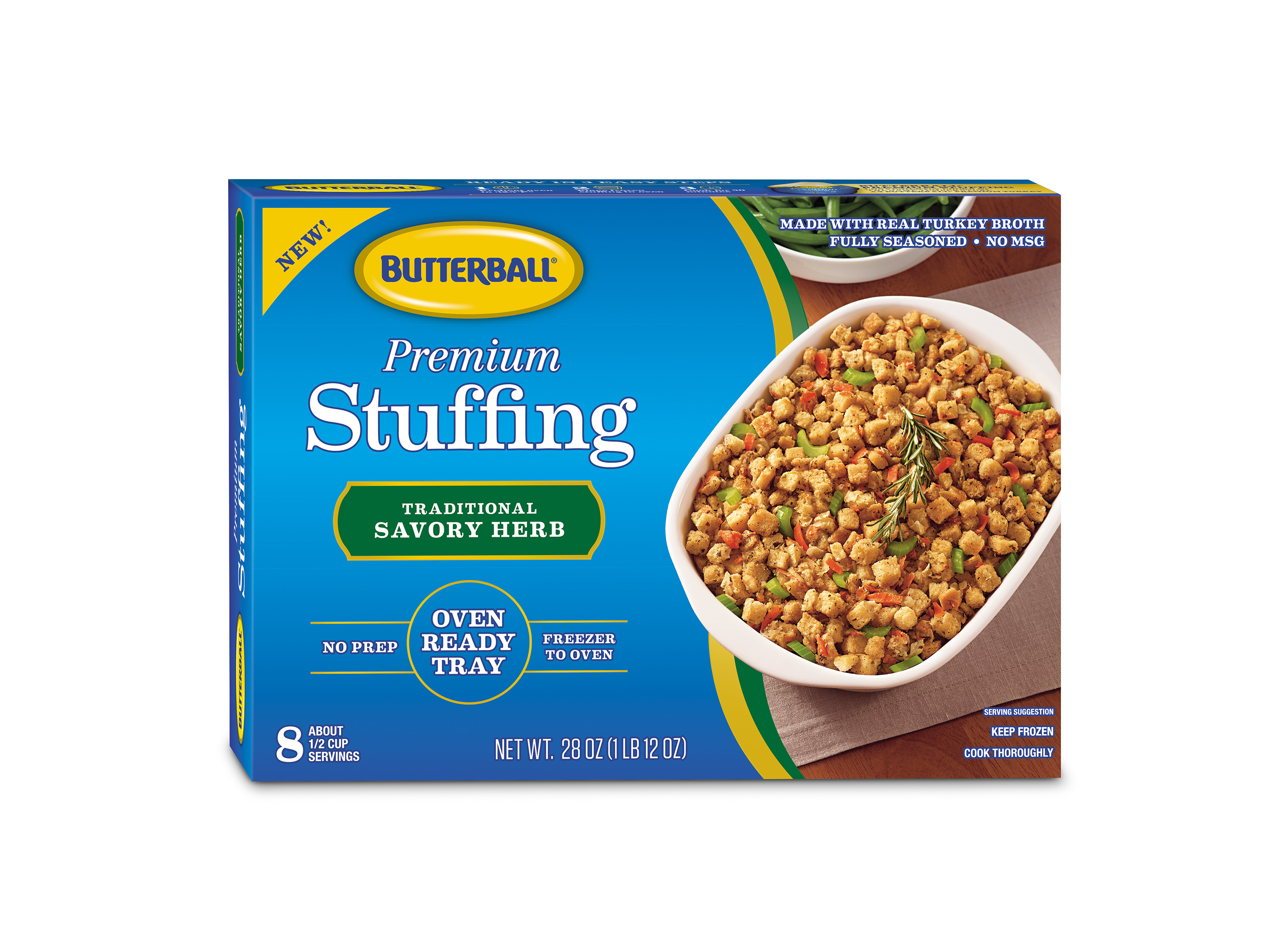 Butterball's Premium Stuffing Traditional Savory Herb product image