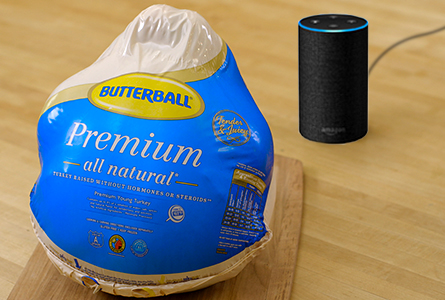 Get started with Alexa and Butterball