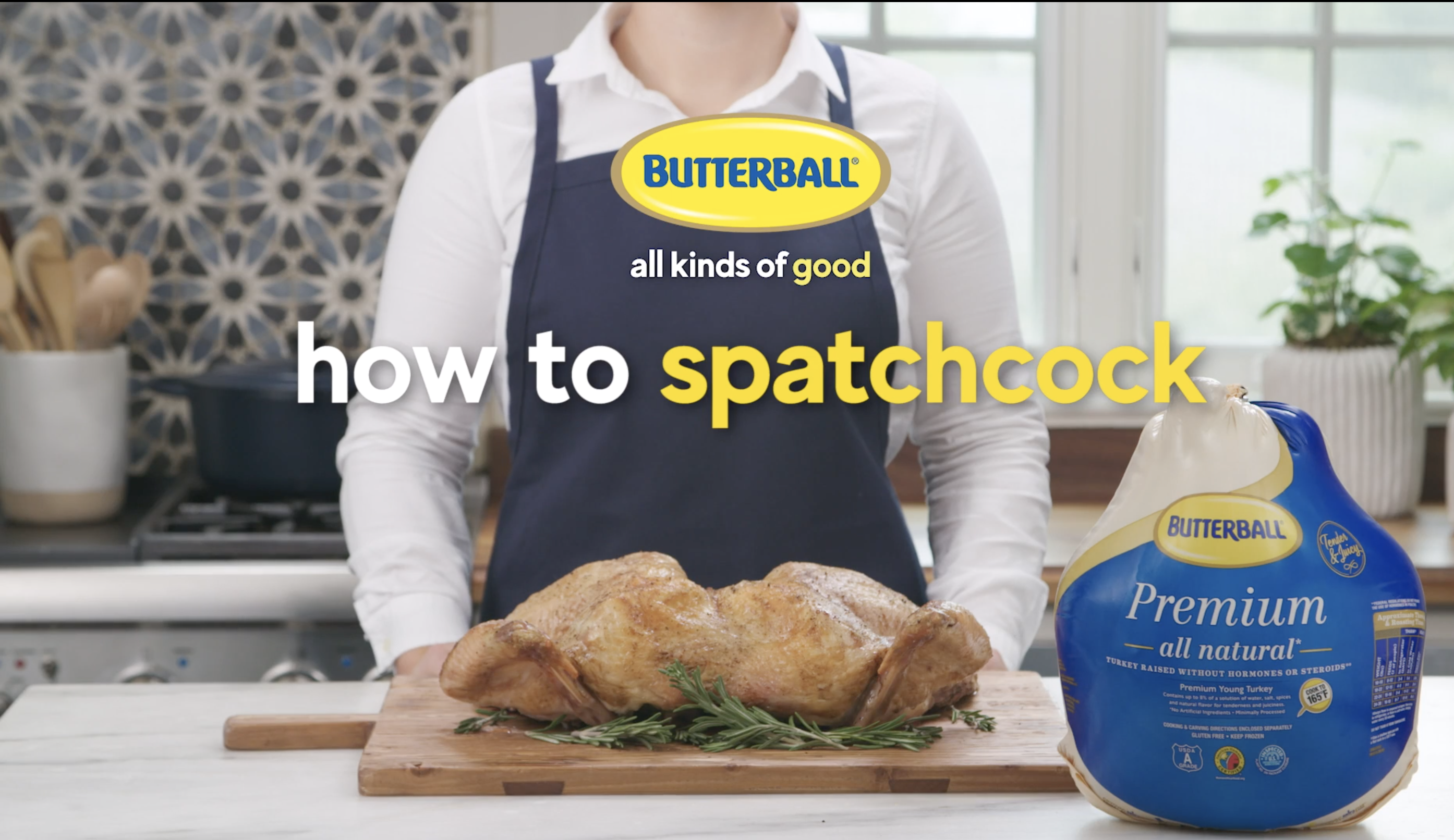 Butterball How to Spatchcock video thumbnail