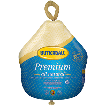 Frozen Whole Turkey Package