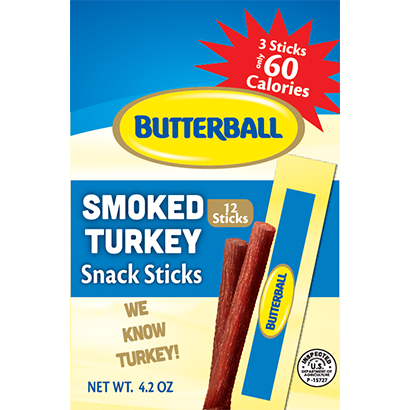 Triple Snack Stick Package