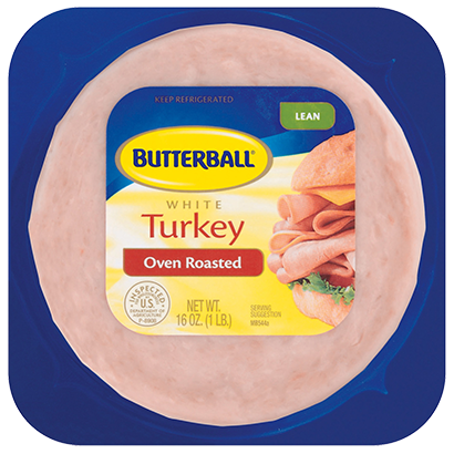Family Size Oven Roasted White Turkey Package
