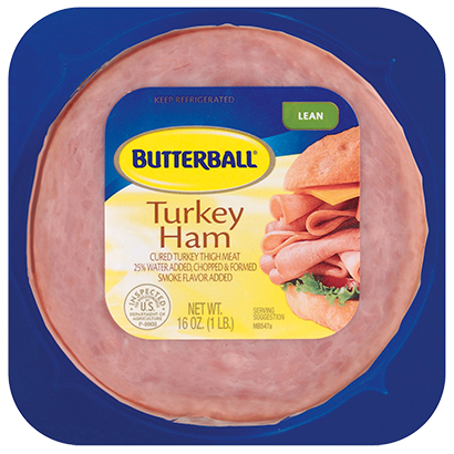 Family Size Turkey Ham Package
