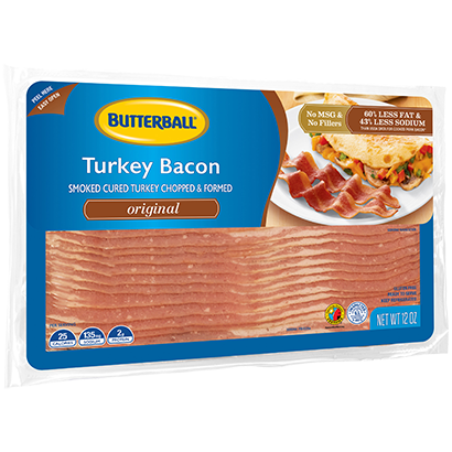 Original Turkey Bacon Package