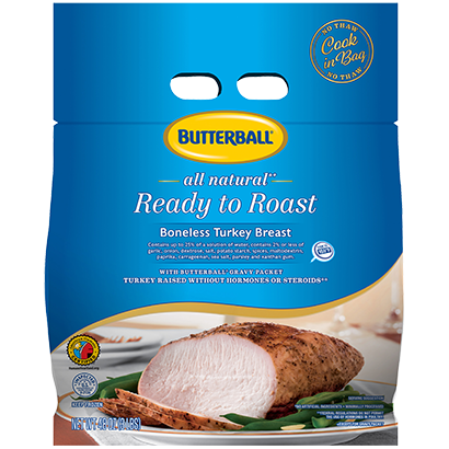 Ready to Roast Classic Boneless Turkey Breast Package