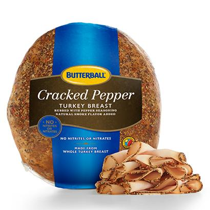 Cracked Pepper Turkey Breast Package