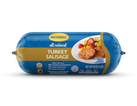 Butterball All Natural Fresh Turkey Sausage Package