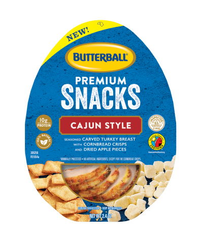 Cajun Style Premium Snacks Package