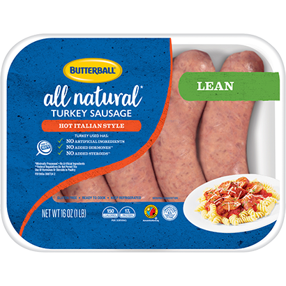 Fresh Hot Italian Turkey Sausage Package