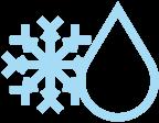 thawing snowflake